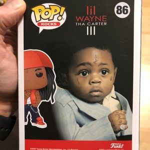 Lil Wayne The Carter 3 Funko Pop
